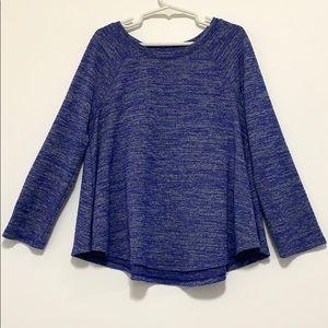 Old Navy Girls Blue Swing T-Shirt